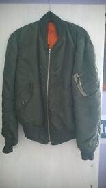 jack jones& para bomber jacket