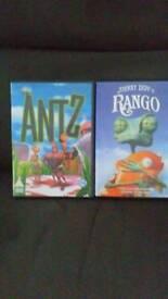 2 CHILDREN'S DVD'S.