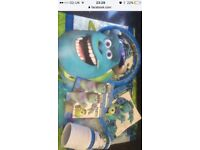 Monsters inc left over partyware