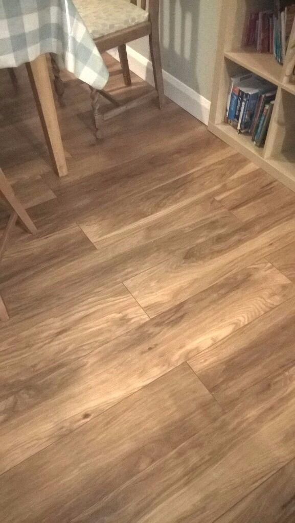 10 5 M2 Laminate Flooring New In Box B Q Ile Appalachian Hickory Curly