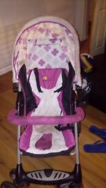 Pram in good condition having carrying capacity of 18 kg child