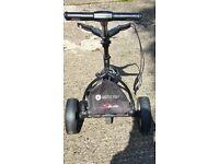Motocaddy S1Lite Black Push Golf Trolley