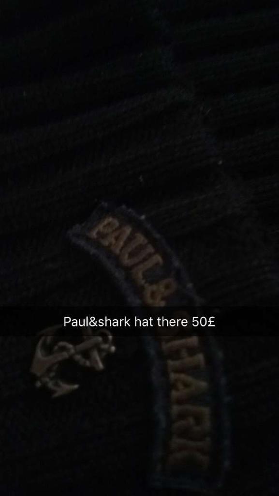 Paul and shark beanie 50£