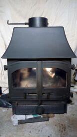 Wood warm multi fuel stove