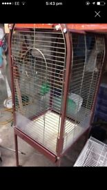Bird/parrot cage