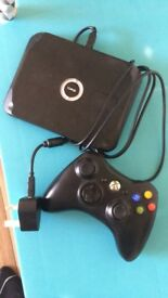 Xbox 360 wireless charging pad and controller