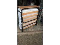 Fold up Bed with mattress free delivery uxbridge area