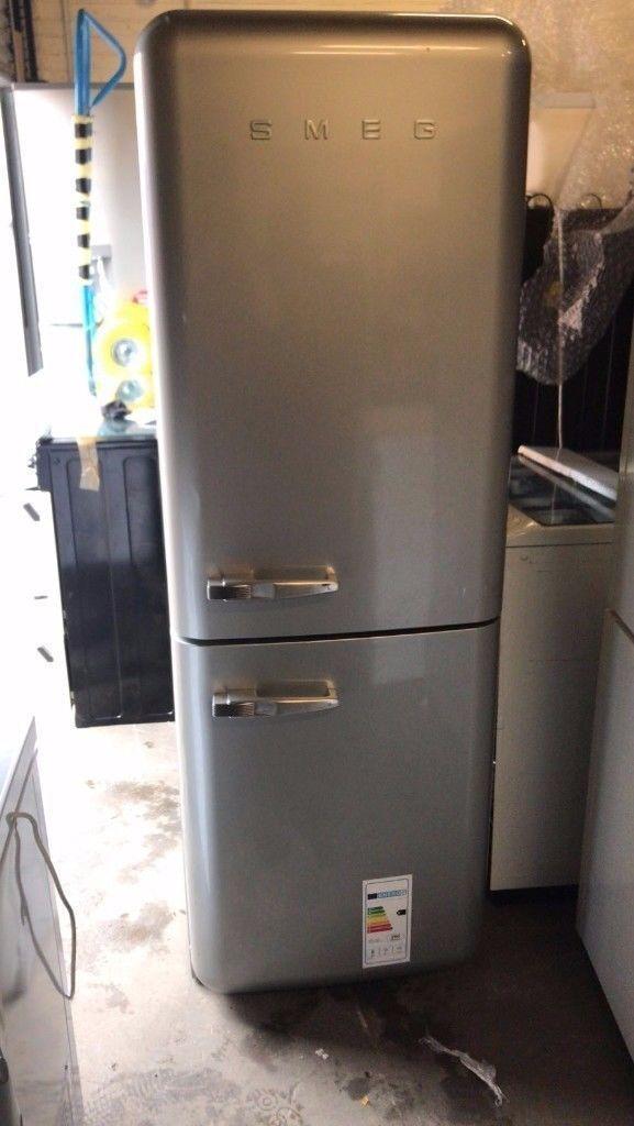 SMEG Fridge Freezer (6 Month Warranty)
