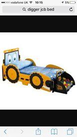 JCB digger bed + mattress