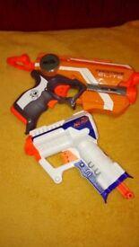 NERF FIRESTRIKE ELITE + NERF TRIAD GUNS