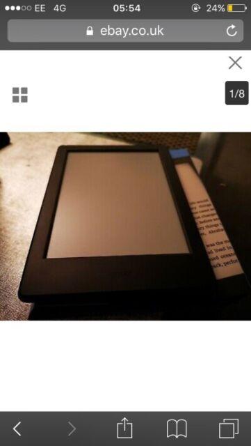 Kindle Touch 2019 4GB E-Reader - Black | in Rainham, London | Gumtree
