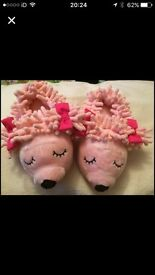 M&S girl size 7 slippers