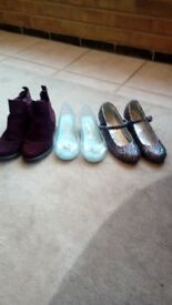 Various kids' shoes