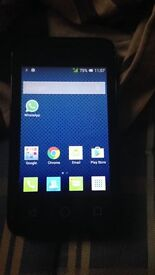 SERIOUS BUYERS URGENT PHONE HAS TO GO TODAY!, new alcatel one touch 2GB phone for 3 networK FOR SALE