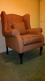 Laura Ashley Wing Back Armchair