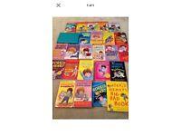 Bundle of 26 horrid Henry books