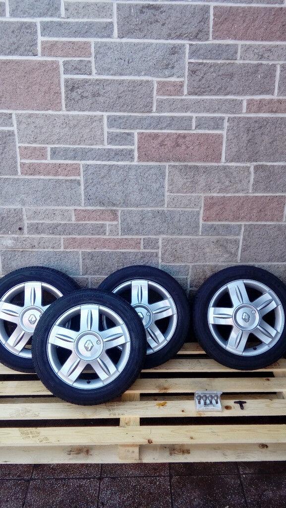 renault alloy wheels & tyres