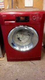 9kg red beko washing machine