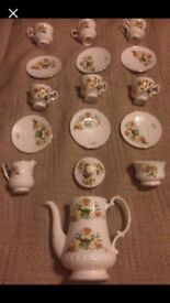 Unused Royal Stafford Bone China 'Daffodil' Tea set