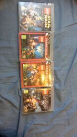 Lego PS3 games for sale, bundle or individual (Star Wars, HP and Hobbit)