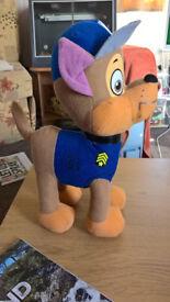 Paw patrol plush toy