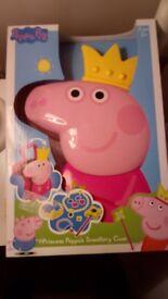 Brand New Boxed Peppa Pig Jewellery Box