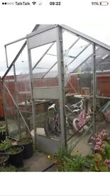 Dismantled greenhouse 8ft*8ft