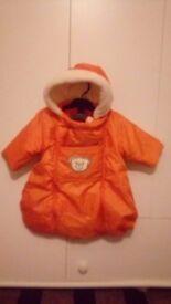 Baby's snowsuit