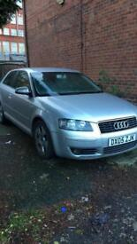 Audi A3 2.0 tdi DSG (REMAPPED) 2005 will swap for another car