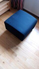 Footstool – Navy Blue