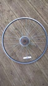 Aluminium Quick release Bike wheel with Shimano MF-TZ21