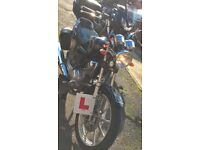 Yamaha YBR125 Custom-2016. Only 1453 miles