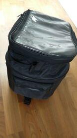 Motorbike telescopic tank bag