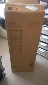 new pair of Bowers and Wilkins FLOOR STANDING CM4 speakers in great working condition NEW IN BOX