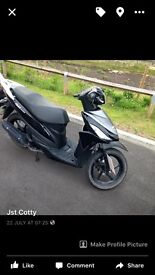 2016 plate 110cc scooter, ped, moped