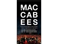 Maccabees Ticket Alexander Palace 30 June 17