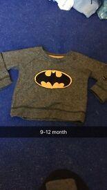 Batman jumper 9-12 month