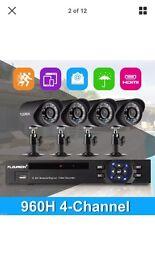 Cctv cameras and recording brand new