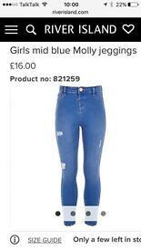 River Island Molly Jeggings age 11