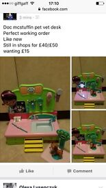 All toys in perfect condition