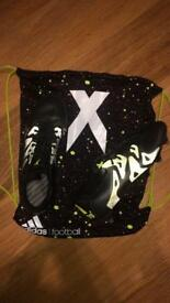Adidas X 15.1 Black and Green Size 6.5 UK