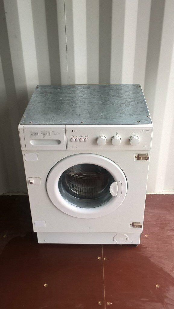 White intergrated Whirlpool Washing machine Wm 601 1100rpm AA Classin Winchester, HampshireGumtree - For sale is an integrated white washing machine WM 601 fully working and in good clean condition. It is an AA Class washer with a 1 6 kg load rate and a 1100rpm spin. The washer has 12 programs. The item can be collected from Winchester area or...