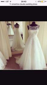 Romantica wedding dress for sale