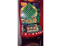 Barcrest Rainbow Richies Leprechauns Gold £70 Jackpot Fruit Machine