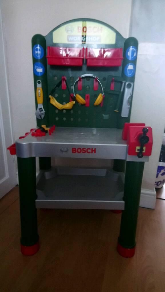 Child's Bosch tool bench