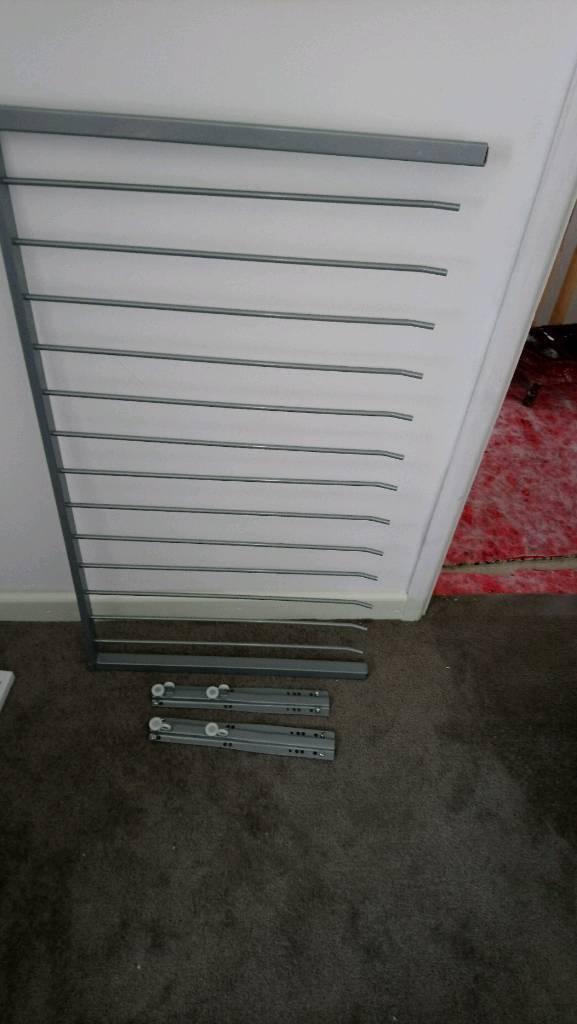 Ikea trouser rail for pax wardrobes 60x100