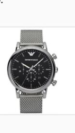 Emporio Armani AR1808 Watch, new with tags