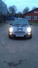 "2002 ""52"" MINI COOPER S - Top Spec Loaded -FSH, XEONS, SAT NAV, PANARAMIC ROOF, HEATED LEATHER SEATS"