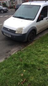 Ford Transit Connect 1.8 diesel swb in white
