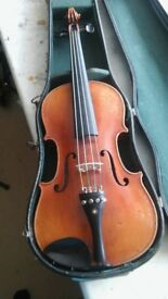 1920s Full Size West German Violin For Sale